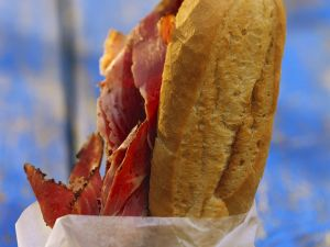Sandwich mit Pastrami Rezept