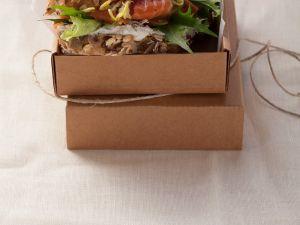 Sandwich mit Räucherlachs und Sprossencreme Rezept
