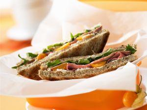 Sandwich mit Roastbeef Rezept