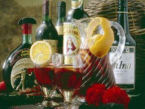 Sangria-Drink Rezept