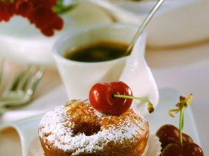 Sauerkirsch-Muffins Rezept