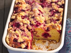 Sauerkirsch-Streuselkuchen Rezept