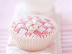 Schachbrett-Cupcake Rezept