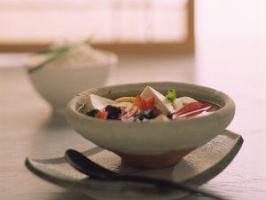 Scharf-saure Miso-Suppe Rezept
