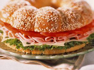 Schinken-Käse-Sandwich Rezept