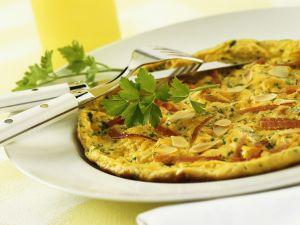 Schinken-Omelette Rezept