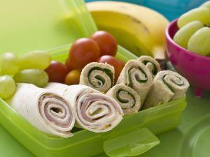 Schinken-Senf-Wraps Rezept