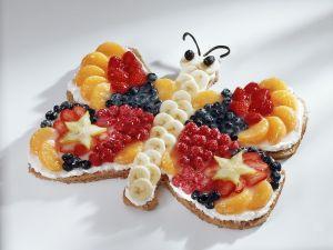 Schmetterlings-Kuchen Rezept