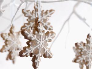 Schneeflocken-Plätzchen Rezept
