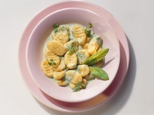 Schnelle Gnocchi mit Sahnesauce Rezept