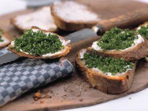 Schnittlauch-Brote Rezept