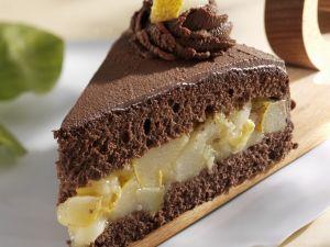 Schoko-Birnen-Torte Rezept