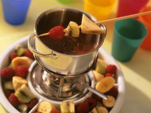 Schoko-Früchte Rezept