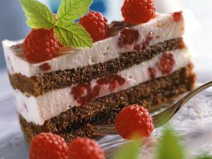 Schoko-Himbeer-Joghurt-Torte Rezept