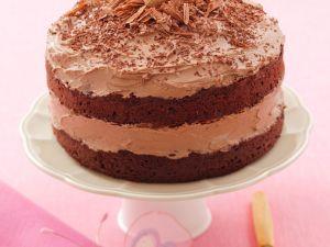Schoko-Kaffee-Torte mit Marzipaneiern Rezept