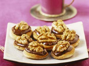 Schoko-Nuss-Kekse auf marokkanische Art Rezept