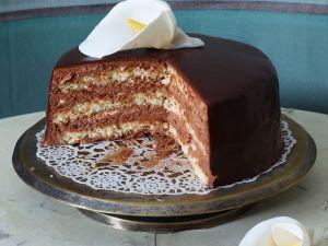 Schoko-Nuss-Torte Rezept