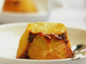 Schoko-Pudding mit Orangen Rezept