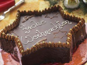 Schoko-Sternkuchen Rezept