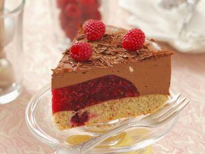Schokoladen-Himbeer-Torte Rezept
