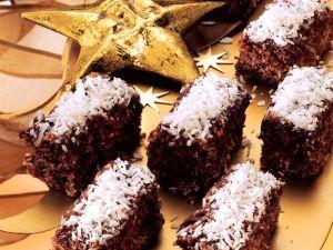 Schokoladen-Kokosschnitten Rezept