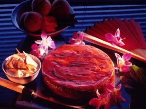 Schokoladen-Pfirsich-Torte Rezept