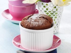 Schokoladen-Soufflé Rezept