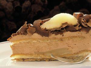 Schokoladencreme-Birnentorte Rezept