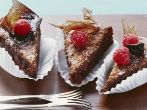 Schokoladenkuchen auf italienische Art Rezept