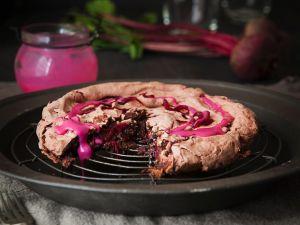 Schokoladenkuchen mit Roter Bete Rezept