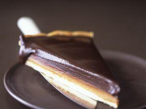 Schokoladentarte mit Karamell Rezept