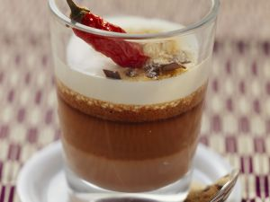 Schokomousse mit Chili und Zimt Rezept
