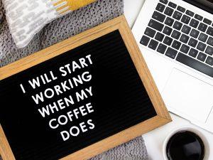Die besten Kaffeesprüche im Büro