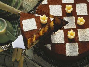 Schwarz-Weiß-Kuchen Rezept