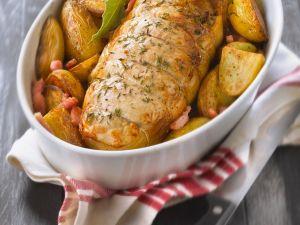 Schweinebraten mit Kartoffeln Rezept