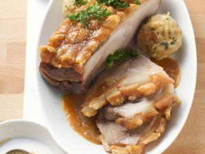 Schweinekrustenbraten auf bayerische Art Rezept