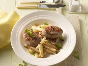 Schweinelendchen mit Kohlrabi-Pommes Rezept