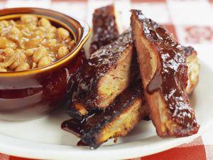 Schweinerippen mit Barbecuesauce Rezept
