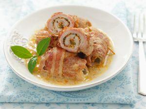 Schweinerouladen mit Senfsauce Rezept