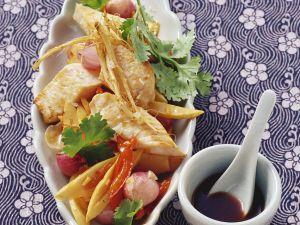 Schwertfisch mit Gemüse Rezept