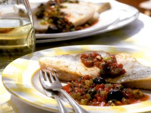 Schwertfisch mit Salsa Rezept