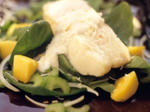 Seebarsch mit Kokossauce Rezept