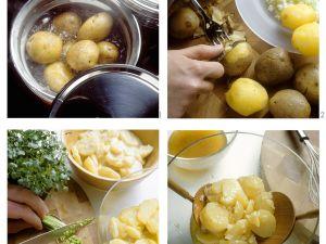 Selbstgemachter Kartoffelsalat Rezept