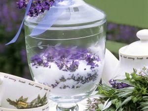 Selbstgemachter Lavendelzucker Rezept