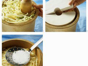 Selbstgemachtes Sauerkraut Rezept