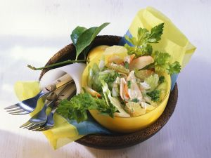 Sellerie-Surimisalat Rezept