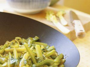 Selleriegemüse aus dem Wok Rezept