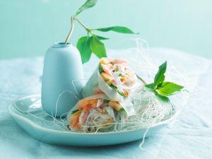 Shrimp-Frühlingsrollen Rezept