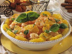 Shrimps in Orangenmarinade Rezept
