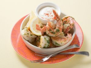 Shrimps mit Aioli Rezept